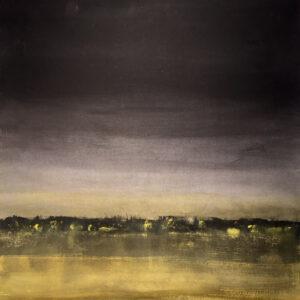 Nightlights III, Acrylic by Barbara Taylor Hall, 21in x 21in, $500 (November 2020)
