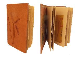 Yard Found, Book-Mixed Media by Ginna Cullen, 8in x 5.5in, $300 (Dec. 2020 - Jan. 2021)
