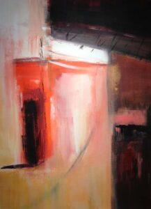Kasbah II, Acrylic by Barbara Taylor Hall (July 2015)