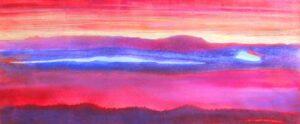 Southwestern Series V, Mixed Media by Barbara Taylor Hall (July 2015)