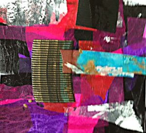 Looking Beyond, Collage by Bev Bley (June 2015)