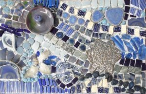 Journey, Mosaic by Cathy Ambrose Smith  (August 2015)