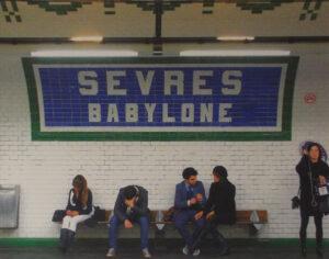 Babylon, Paris, Metallic Photograph by Deborah Herndon  (May 2015)