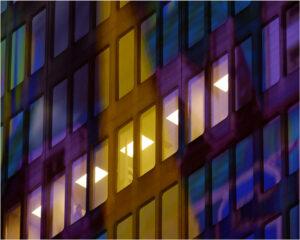 City Lights No 9, Photography by Doug Emery  (November 2015)