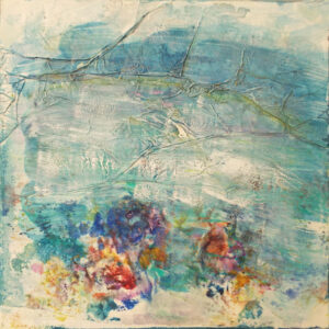 On the Water, Mixed Media by Elizabeth Halliday  (Dec. 2015-Jan. 2016)