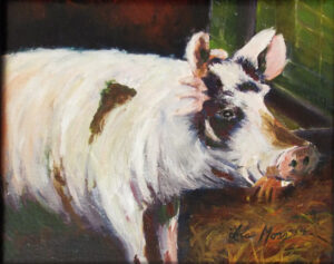 Dirty Champion, Oil by Ina Moss  (Dec. 2015-Jan. 2016)