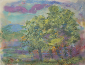 Changing Colors, Encaustic by Jane Forth  (July 2015)