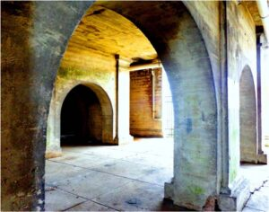 Silent Arches, Digital Photography by Karen Julihn  (May 2015)