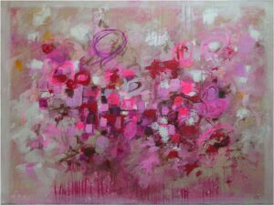 Alchemy of Passion, Mixed Media by Kat Warren  (April 2015)