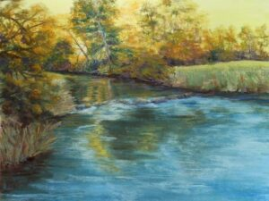 Evening Glow, Pastel by Kathleen Willingham  (April 2015)