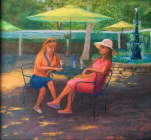 Ingleside Afternoon, Pastel by Kathy Waltermire  (March 2015)