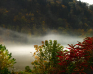 Misty River, Photographic Art by Kenea Maraffio (March 2015)