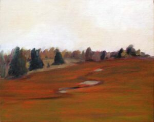 After the Rain, Oil on Canvas by Mary V Ginna-Cullen  (March 2015)