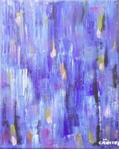 Holy Spirit, Acrylic by Megan Crockett (July 2015)