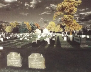 Mother, Father, Berun, NJ, Hand Painted Traditonal Color Photography by Michael C Habina  (May 2015)