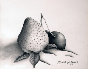 Fruit of the Imagination, Pencil by Michelle Enfiejian  (March 2015)