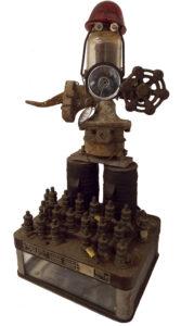 Fireman, 3D Sculpture by Pam Weldon  (March 2015)