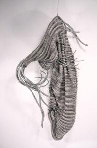 Cocoon, Knit Sculpture by Passle Helminski  (November 2015)