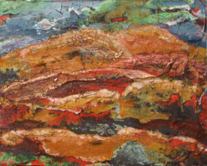 Earthscape I, Acrylic on Panel by Patricia Smith (Dec. 2015-Jan. 2016)