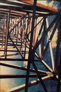 Bridges No. 1, Photo Encaustic by Sasha Leigh (May 2015)