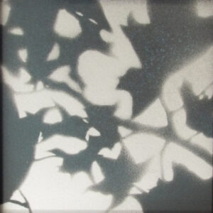 Like Wind Through Leaves, Spray Paint by Stephanie Athanasaw  (Dec. 2015-Jan. 2016)