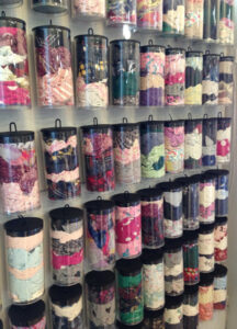Inventory Methods, Recycled Rags in Plastic Tubes by Susan Hensel  (November 2015)