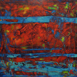 Riverbed, Acrylic by Tarver Harris  (February 2015)