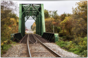 Beyond the Trestle, Photograph by Fritzi Newton, 12in x 18in, $250 (February 2021)