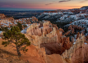 Sunrise at Bryce, Photograph by Dorothy Stout, 16in x22in, $350 (February 2021)