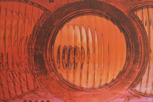 Fresnel Fun, Digitally Manipulated Photograph by Lee Cochrane, 12in x 18in, $180 (May 2021)