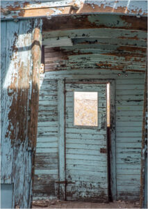Old Wooden Door, Photographic Print by Dorothy Stout, 45in x 32in, &750 (May 2021)