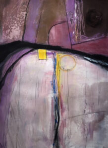 Alive in Repose, Acrylic by Barbara Taylor Hall, 22in x 16in, $500 (June 2021)