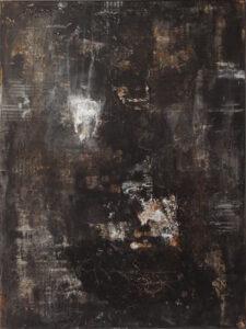 Dark Tribute, Acrylic by Bob Worthy, 24in x 18in, $350 (June 2021)
