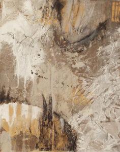 Harmonic Polarity I, Acrylic by Bob Worthy, 14in x 11in, $250 (June 2021)