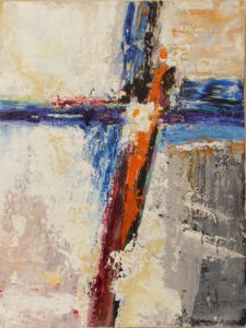 Hope, Acrylic on Canvas by Katharine K. Owens, 24in x 18in, $750 (June 2021)