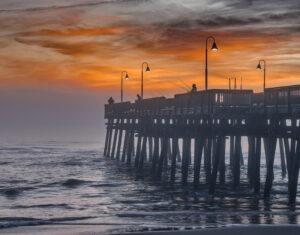 Sanbridge Pier, Photography by Buddy Lauer, 14.5in x 18.5in, $225 (June 2021)