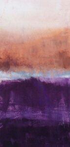A River Runs Through II, Acrylic by Barbara Taylor Hall, 21in x 10in, $350 (July 2021)