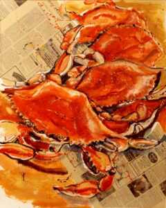 Chesapeake Special Edition, Oil by Charlotte Richards, 30in x 24in, $600 (July 2021)