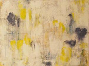 Constrained Conversations 2, Acrylic & Mixed Media by Bob Worthy, 18in x 24in, $350 (July 2021)
