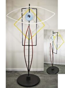 Dance Like No One Is Watching, Sculpture byy Addison Likins, 80in x 44in x 24in, $2400 (July 2021)