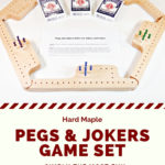 "Pegs & Jokers, ""The best crap on your neighbor"" game ever!"