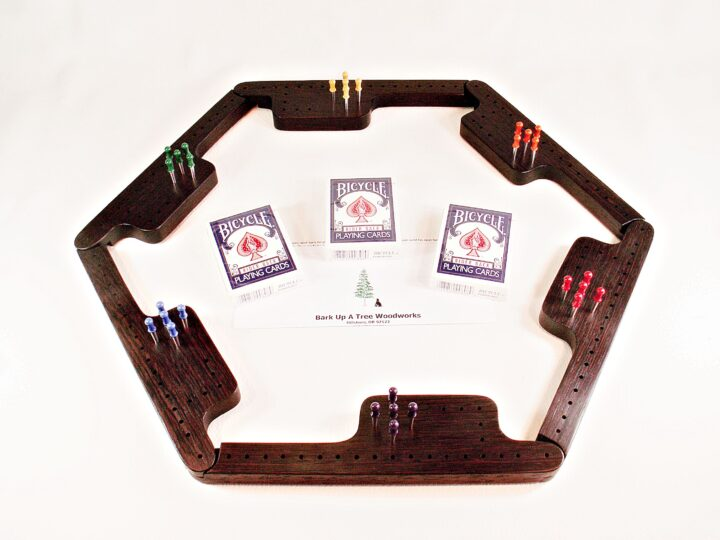 Pegs & Jokers Game Set - Wenge