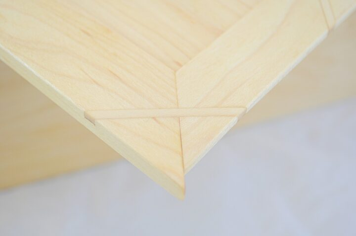 STBPJ - Hard Maple - Lid Miter