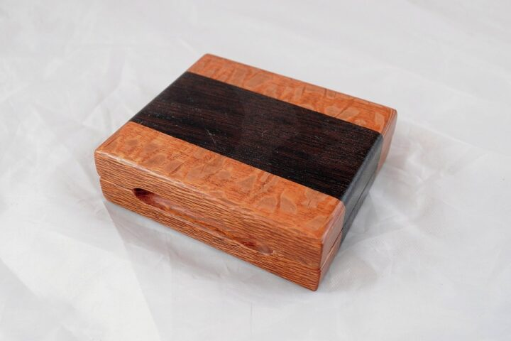 Playing Card Case #59 - Lacewood & Wenge