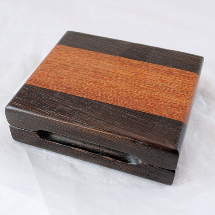 Playing Card Case #63 - Wenge & Cumaru