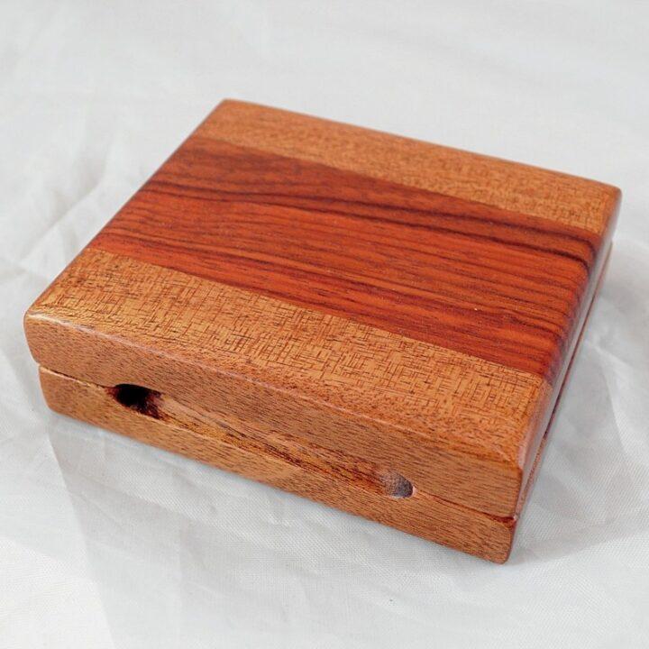Playing Card Case #65 - Khaya & Monkeywood