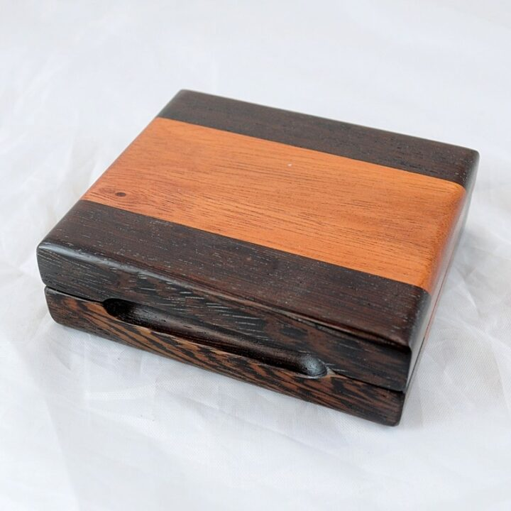 Playing Card Case #67 - Wenge & Monkeywood