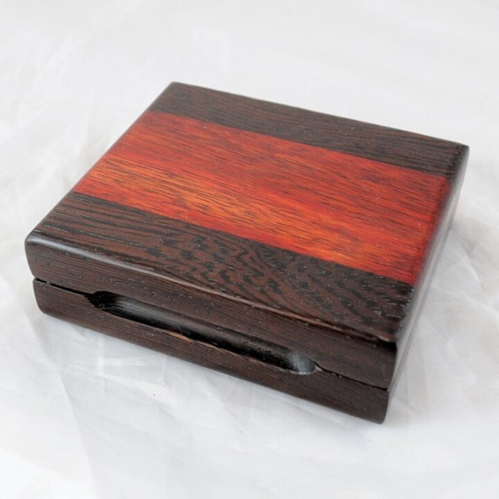Playing Card Case #70 - Wenge & Bloodwood