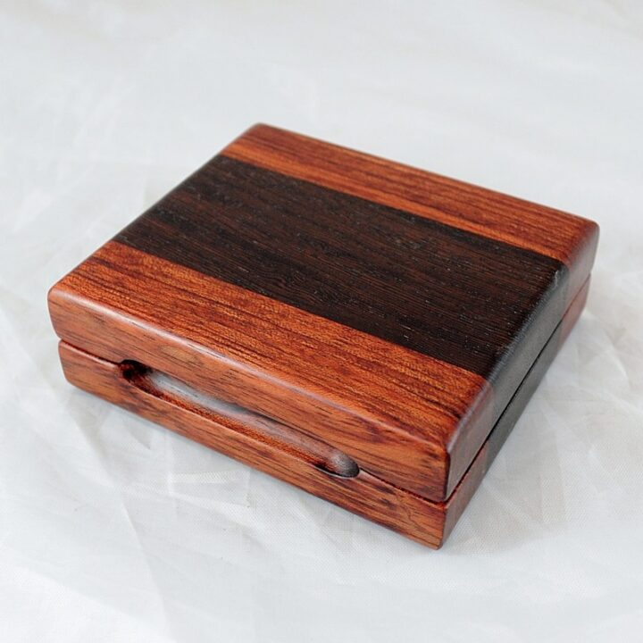 Playing Card Case #75 - Bubinga & Wenge