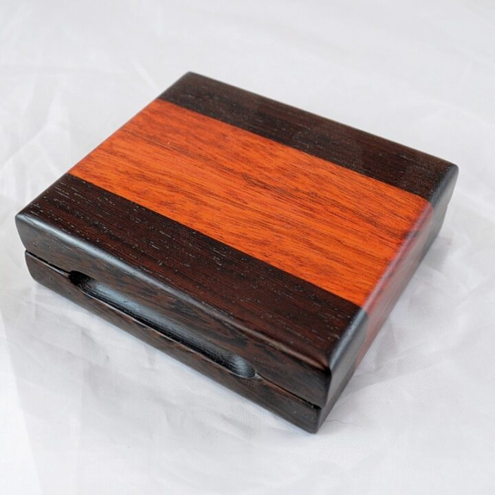 Playing Card Case #79 - Wenge & Monkeywood